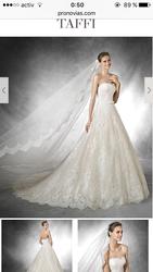 Свадебное платье Pronovias модель Taffy 2016