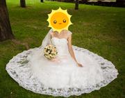 Свадебное платье из ОАЭ  продам! Не дорого