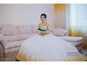 Шикарное свадебное платье! г. Алматы,  р. 42-44