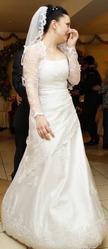 Продам свадебное платье р.44-46 на корсете