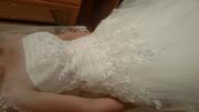 Здравствуйте! Продам красивое и пышное свадевное платье.