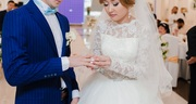 Шикарное и пышное свадебное платье