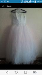 свадебное платье в комплекте все имеется