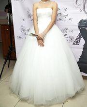 Продам счастливое свадебное платье б/у