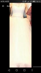 Срочно продам свадебное платье+сапожки
