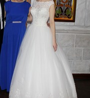 Свадебное платье,  цвет Айвори. Размер 42-46