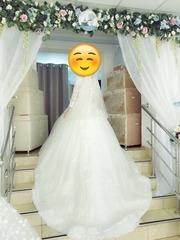 Новый свадебный платье