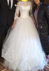 Продаю своё счастливое свадебное платье. Астана