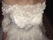 Свадебное 3Д платье