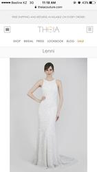 Свадебное платье от Theia Кутюр Нью Йорк коллекция 2017