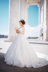 Шикарное свадебное платье!!!