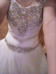 Срочно продам красивое пышное свадебное платье