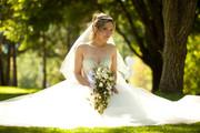 Свадебное платье  продам б/у Алматы
