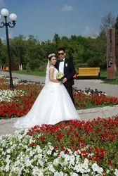 Красивое свадебное платье Астана б/у