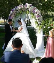 Сказочное свадебное платье 250 000 тенге