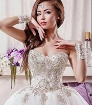 """Продам счастливое свадебное платье. Куплено в салоне «Ivory"""""""