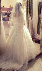 Красивое Свадебное платье продам Астана