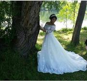 Срочно,  недорого продам счастливое свадебное платье