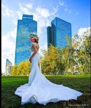 Свадебное платье рыбка 42р. покупала в Ivory Астана