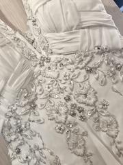 Шикарное шифоновое НОВОЕ свадебное платье.