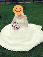 Срочно Продам свадебное платье б/у