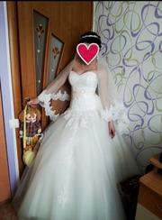 Платье свадебное Айвори Алматы