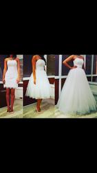 Срочно продам свадебное платье 3 в 1 м!
