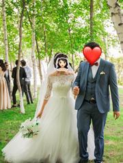 Продам воздушное свадебное платье